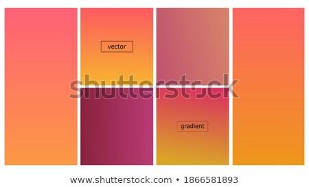 blurred abstract backgrounds set smooth template design for creative decor covers banners and webs stock photo © essl