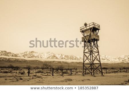Manzanar watch tower Stock photo © fotogal