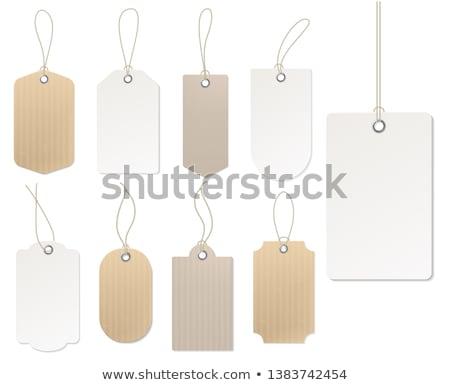 ayarlamak · indirim · bilet · etiketler · pulları - stok fotoğraf © orson