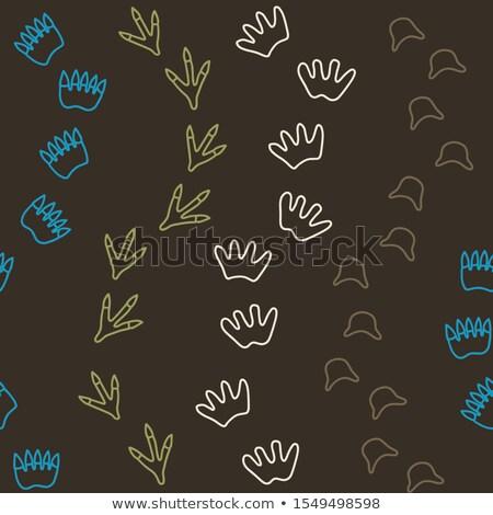 Simples marrom cor sem costura vetor padrão Foto stock © yopixart
