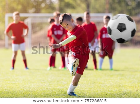 Foto stock: Fútbol · equipo · partido · ninos · sesión · fútbol