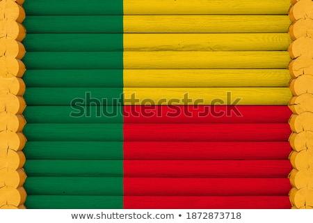 house with flag of benin stock photo © mikhailmishchenko