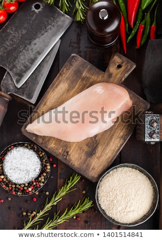 Vers ruw organisch kip filet borst Stockfoto © DenisMArt