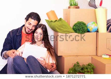 Advisor Sitting Near Happy Couple Stock photo © AndreyPopov