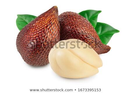 Serpiente frutas primer plano frescos fondo planta Foto stock © boggy