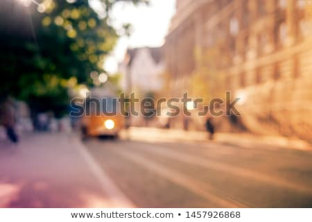 Kentsel sahne örnek gökyüzü ev Bina manzara Stok fotoğraf © bluering