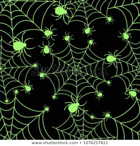 day of the dead neon seamless pattern stock photo © anna_leni