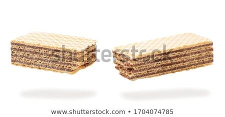 White chocolate wafer Stock photo © magraphics
