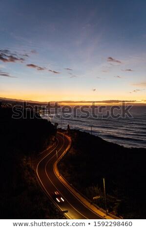 Repülés fölött óceán hullámok szemben gyönyörű Stock fotó © ruslanshramko