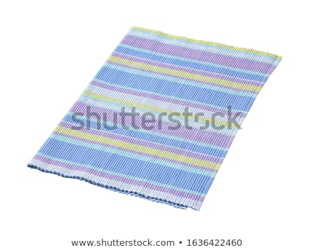 Colorful striped cotton placemat Stock photo © Digifoodstock