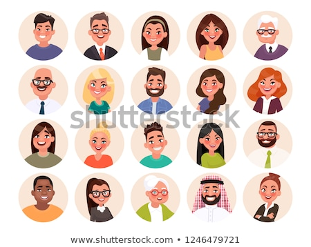 People of Different Ages, Professions Set Vector Stock photo © robuart