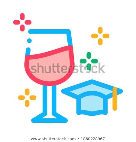 ワイン 専門家 アイコン ベクトル 実例 ストックフォト © pikepicture