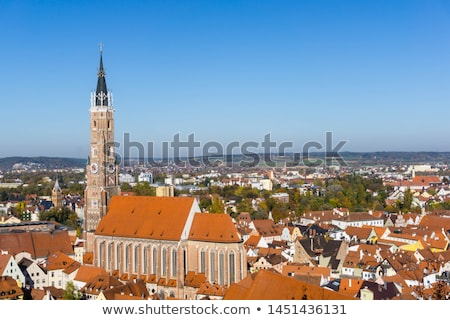 View of St. Martin Church, Landshut, Germany Stock photo © borisb17