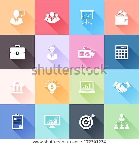Dokumentu 16 ikona wektora internetowych użytkownik Zdjęcia stock © ayaxmr