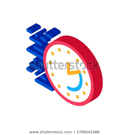 Time Expiration isometric icon vector illustration Stock photo © pikepicture