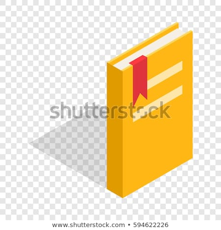 Dictionary Or Education Book isometric icon vector illustration Stock photo © pikepicture
