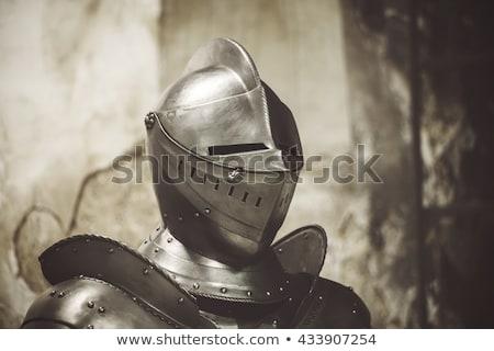 shining knight helmet stock photo © razvanphotography