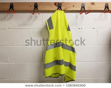 Travailleur réfléchissant veste travaux sécurité Photo stock © photography33