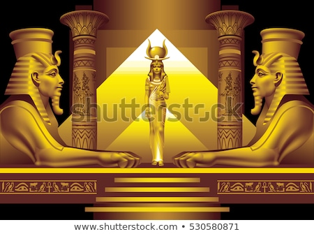 pyramid of the queens in egypt stock photo © prill