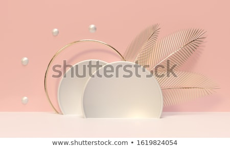 abstract leaf based template Stock photo © pathakdesigner