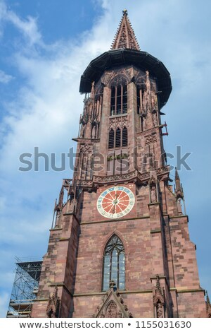 Interior of the Freiburg Muenster Stock photo © Spectral