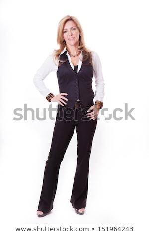 Portret prachtig blond zakenvrouw business kantoor Stockfoto © photography33