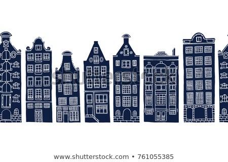 old amsterdam house stock photo © compuinfoto