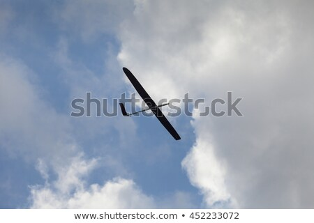 rc glider flying in the blue sky stock photo © discovod