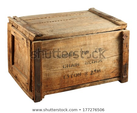 Wooden old box Stock photo © designsstock