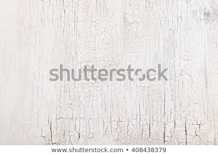 Velho rachado pintado cor madeira Foto stock © smuay