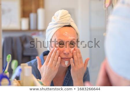 Make-up cara retrato grande Foto stock © maros_b