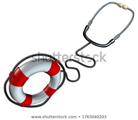 care lifebelt medicine Stock photo © flipfine