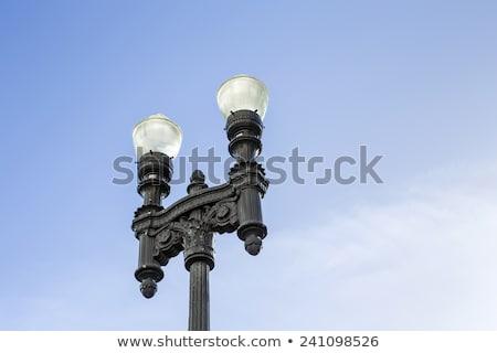 old replica lantern downtown miami Stock photo © meinzahn