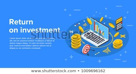 Calculator with money - Interest Stock photo © Zerbor
