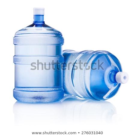 due · detergente · bottiglie · plastica · bottiglia · chimica - foto d'archivio © ozaiachin