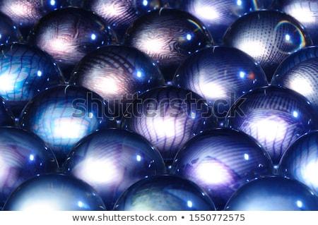 üveg · labda · vektor · szövegbuborék · illusztráció · absztrakt - stock fotó © maximmmmum