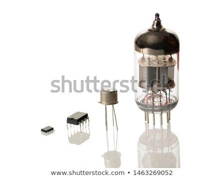 évolution intégré vieux radio technologie Photo stock © devulderj