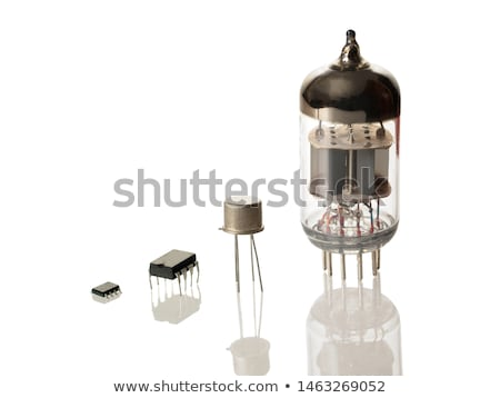 Evolução integrado velho rádio tecnologia Foto stock © devulderj