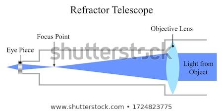 Teleskop obraz technologii edukacji nowoczesne Zdjęcia stock © njnightsky