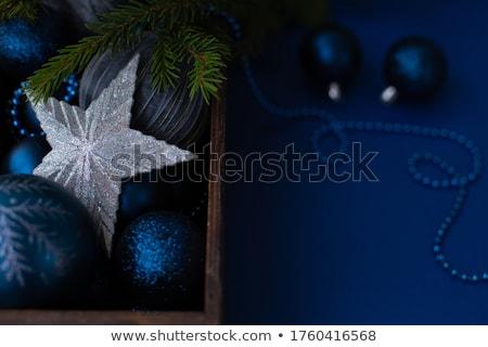ボール 青 雪 クリスマス ストックフォト © Valeriy