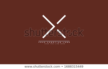 x letter logo stock photo © ggs