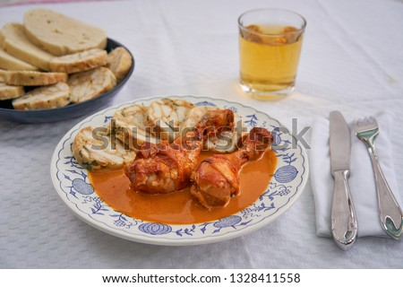 Brood tsjechisch keuken voedsel gekookt Stockfoto © Digifoodstock