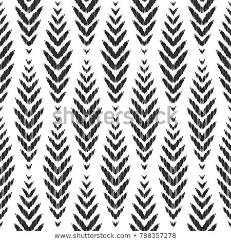 vector seamless ikat ethnic pattern stock photo © fresh_5265954