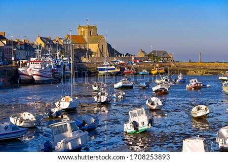 Barfleur, Normandy, France Stock photo © phbcz
