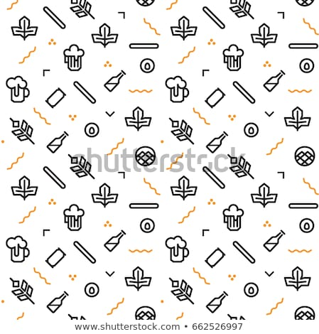Background design with crackers and drinks Stock photo © bluering