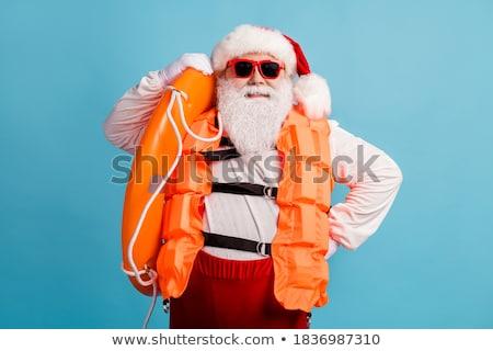 Dojrzały mężczyzna okulary jacht zabawy żeglarstwo Zdjęcia stock © IS2