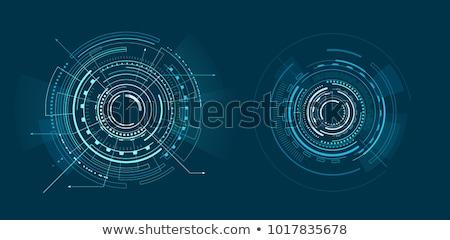 kettő · különböző · absztrakt · vektor · művészet · illusztráció - stock fotó © robuart