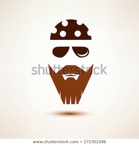 человека стилизованный вектора икона иллюстрация Сток-фото © blaskorizov