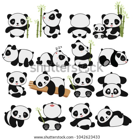 bamboe · stencil · zwart · wit · illustratie · bos · asian - stockfoto © arkadivna