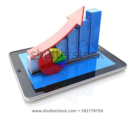 telefoon · portemonnee · illustratie · woordwolk · business · internet - stockfoto © iserg